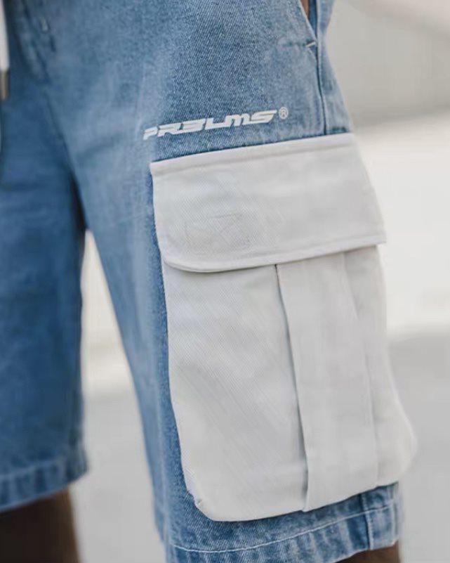 ホワイトポケットデニムショートパンツの画像5